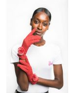 Lily Gloves Red