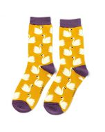 Swans Socks Yellow