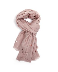Virgo Scarf Blush