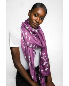 Kyoto Scarf Purple