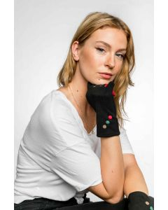 Agnes Gloves Black