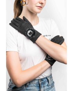 Lily Gloves Black