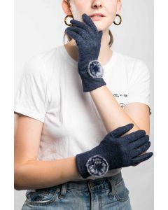 Lily Gloves Navy
