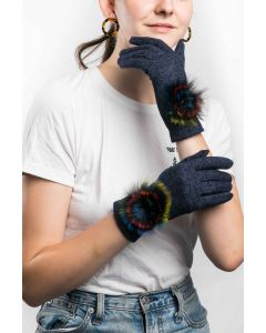 Bella Gloves Navy