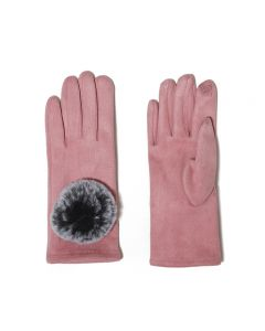 Ivy Gloves Pink