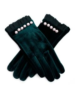 Holly Gloves Green