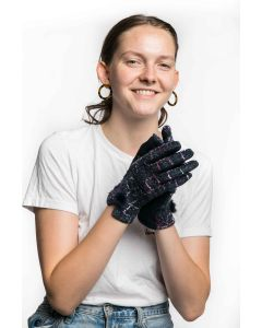 Katie Gloves Navy