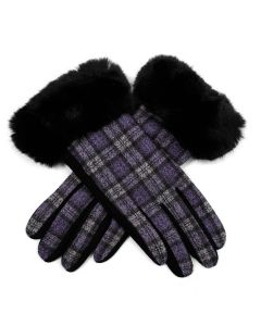 Iris Gloves Purple