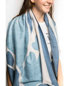 Leah Scarves Blue