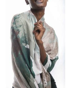 Ruth Scarves Green