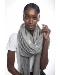 Ivory Scarves Silver
