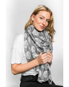 Carrie Scarf Grey