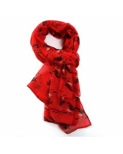 Robin Scarf Red