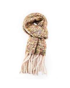 Winter Thin Stripes Scarf Green