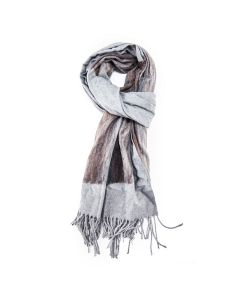 Art Scarf Grey