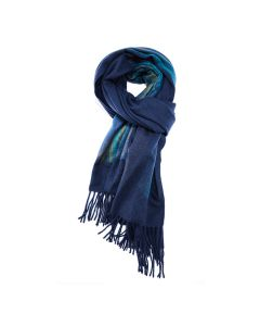 Art Scarf Navy