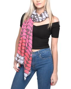 Scallops Scarf Pink