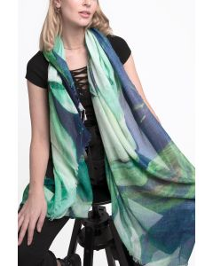 Lotus Scarf Green