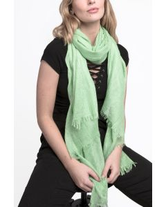 Soft Plain Scarf Mint