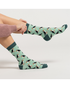 Puffin Socks Mint