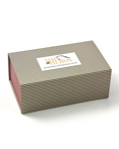 Mr Heron Mini Stripes Socks Box
