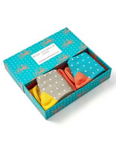 Bike & Spots Socks Box