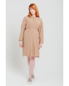 Waisted Dress Camel