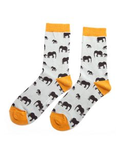Elephants Socks Duck Egg