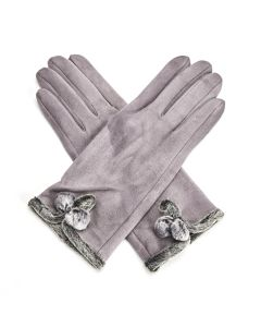 Betty Gloves Grey
