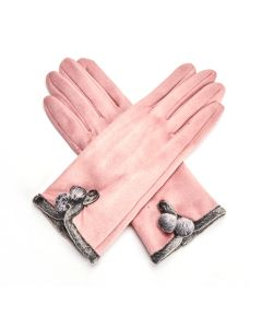 Betty Gloves Dusky Pink