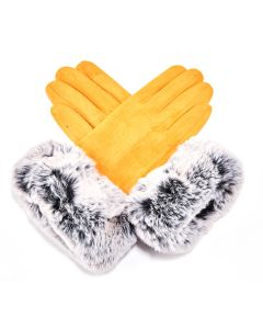 Echo Gloves Mustard