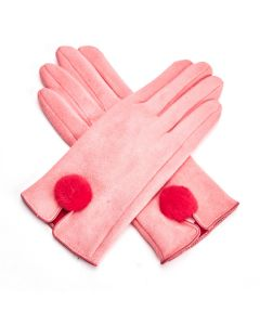 Harriet Gloves Coral