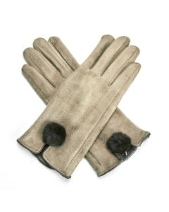 Harriet Gloves Khaki