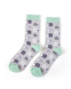Hedgehogs Socks Silver