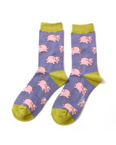 Piglets Socks Cornflower