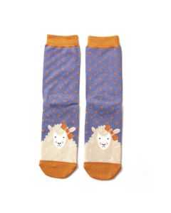 Sheepish Socks Cornflower