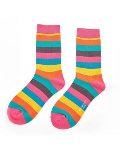 Thick Stripes Socks Bright
