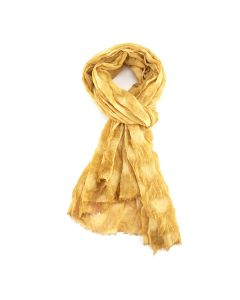 Hearts Scarf Yellow