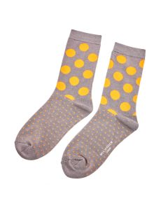 Spots & Dots Socks Grey