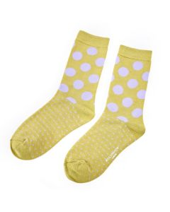 Spots & Dots Socks Olive