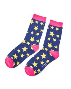 Stars Socks Navy