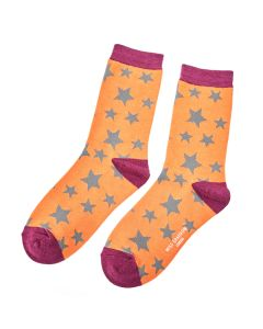 Stars Socks Orange