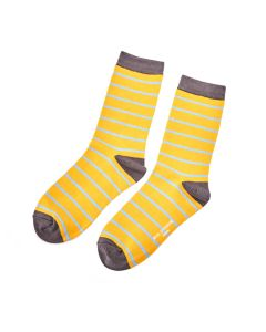 Thin Stripes Socks Yellow