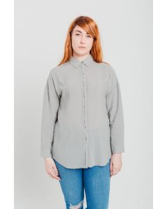 Grey Tencel Shirt