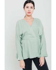 Knot Top Green