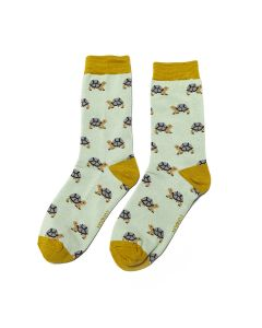 Turtle Socks Duck Egg
