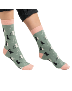 Retriever Socks Duck Egg