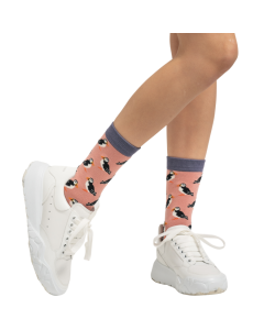 Puffin Socks Dusky Pink